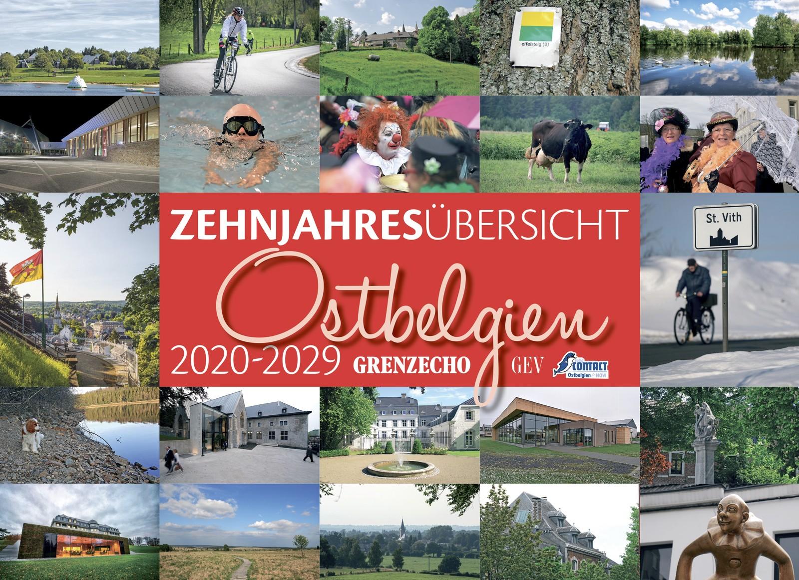 Zehnjahresübersicht Ostbelgien 2020-2029