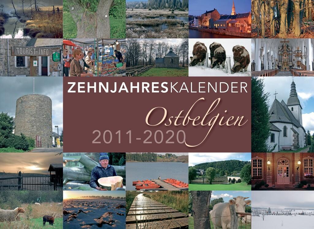 Zehnjahreskalender Ostbelgien
